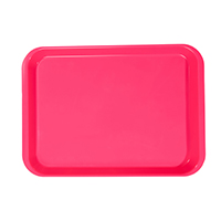 9514505 B-Lok Flat Trays Vibrant Pink, Flat Tray, 20Z401S