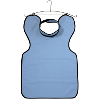 9558505 Lead-Free X-Ray Aprons Apron with Thyroid Collar, Blue, 31459