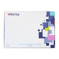 "9514705 Plastic Headrest Covers 9.5"" x 14"", Large, 250/Box"