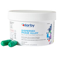 9526805 Dispersed Phase Alloy Fast Set, One Spill, 400 mg, Green/Green, 100/Pkg