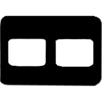 8854015 EZ-Tab Gray Plastic Series 2H for #2 film, 100/Pkg., 30-6021