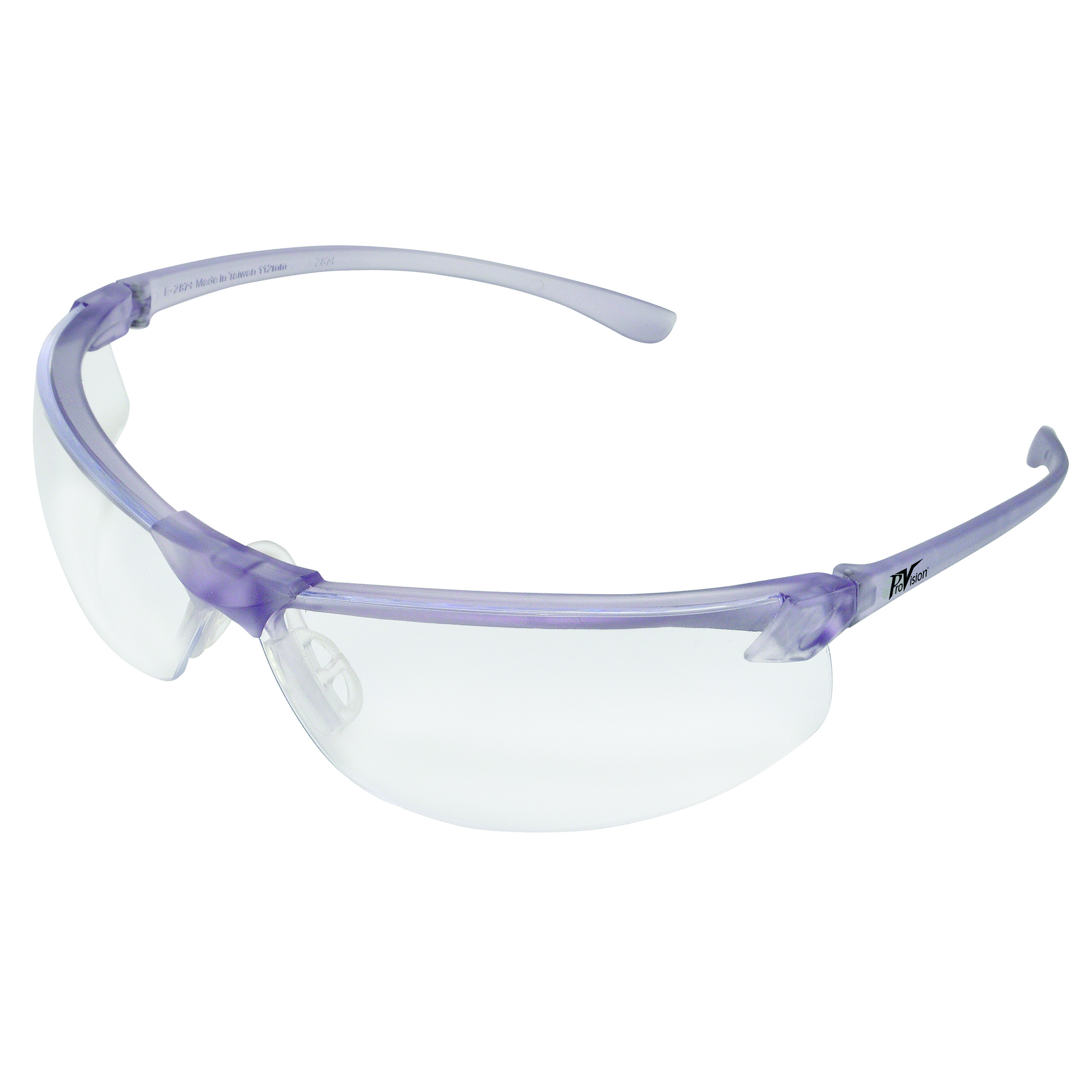 9200115 ProVision Allure Eyewear Lavender Frame, Clear Lens, 3604LC