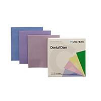 "8444115 Hygenic Fiesta Dental Dam 5"" x 5"", Medium, Assorted Colors, 364/Box, 07316"