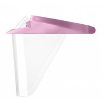9506215 Op-D-Op Visor Shield Protective Barrier System Medium, Pink, 308DK-PK
