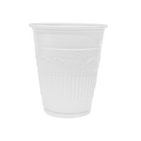 5250615 Plastic Cups Plastic Drinking Cups,1000/Case,White,27706
