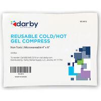 "9514915 Reusable Cold/Hot Gel Compress Gel Compress, 4.75"" x 6"", 48/Case"