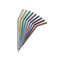 9442025 Crystal Tip Disposable Air/Water Syringe Tips 250/Pack, Assorted, CT1200