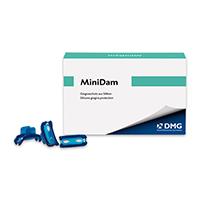 9503125 MiniDam Blue, 20/Box, 220381