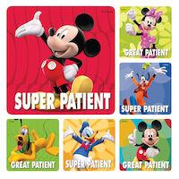 3314125 Disney Stickers Disney Patient, 100/Roll, PS373
