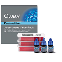 9530425 Gluma Desensitizer Value Pack, 5 ml, 3/Box, 66018221