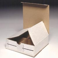 0931425 Model Storage Box White, 25/Box, 9582740