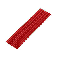 "9522425 Utility Wax 3/16"", Square Rope, Red, 44/Box"