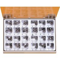 8450825 Permanent Molar Crowns Stainless Steel Kit, PO-96