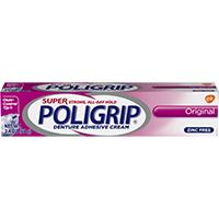 0074035 Super Poligrip Adhesive, 2.4 oz., 05455
