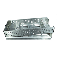 8900535 Fliptop Cassettes B-Style Fixed Rack 7 Instrument, T007B-F