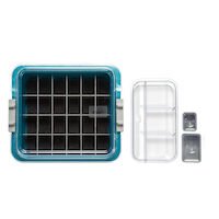 9538735 Procedure Tubs Complete Tub Kit, Teal, 20Z455J