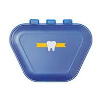 9538245 Imprinted Denture Box Midnight Blue, 24/Pkg., 30P800T