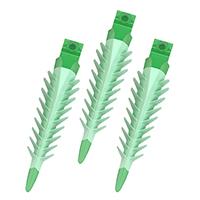 8390345 3D Fusion Wedge Green, 100/Box, FXGR