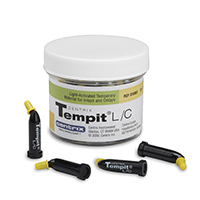 8180445 Tempit L/C Prefilled Tips, 0.25 g, 30/Jar, 310063