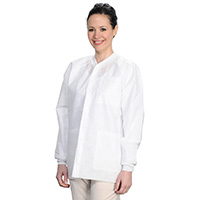 9510645 Extra Safe Jackets Small, White, 10/Pkg, 3630WHS