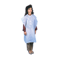 "9501745 Patient Barrier Aprons Knee Length, Blue, 27""x 44"", NP4BL"