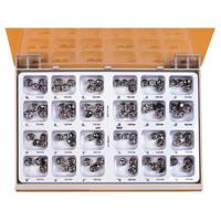 8450845 Permanent Molar Crowns Stainless Steel 6UR7, 5/Box, 6-UR-7