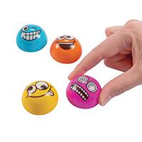 3310055 Pull Back Emoji Pull Back Emoji's, 48/Pkg., JV493