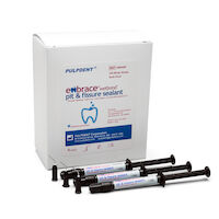 8790255 EMBRACE WetBond Pit and Fissure Sealant Off-White, Bulk Pack, Syringe, 1.2 ml, 20/Box, EMSWB