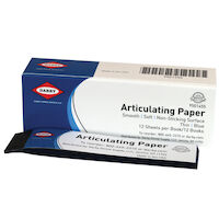 9501455 Articulating Paper Thin, 71 microns, Blue, 12Books/Box