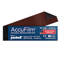 2211655 AccuFilm II Red/Black, 50 Sheets/Book, 5 Books/Box, S053