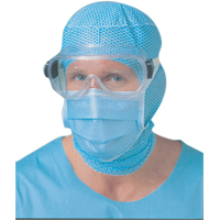 3550855 BARRIER Surgical Mask Blue, 60/Box, 42301