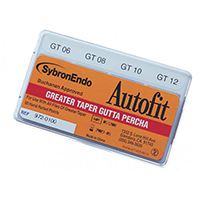 8542365 Autofit Greater Taper  Gutta Percha .10, 50/Pkg., 972-0104