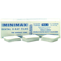 8660665 Minimax D-Speed Film TRX-S, Size 2, 144/Box, 20705