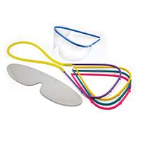 9528875 Googles Eye Shields Office Pack, GOP10-N