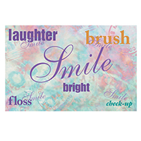 3315085 Words Postcard Laser Words Postcard, 200/Pkg., RC3022