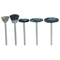 8100185 Brushes Large Cup, Standard Stiff, 12/Pkg., 06251
