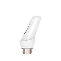 4970295 Esthetic Zirconium Abutment Titanium Base 25° Angulated, 2 mm x 11 mm, AGM-ZRM-252