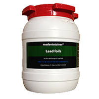 8950006 Medentotainer Lead Foils 1.5 Gallon, BOUS1903