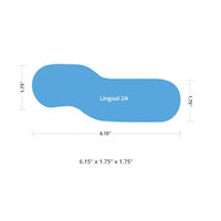 4857106 Riofoto Mirrors 2A, Adult, Lingual