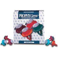 9540606 Prophy Gems Extra Coarse, Cool Mint, 100/Box, PGX104CM