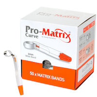 5252706 Pro-Matrix Pro-Matrix Curve – Wide, 6.0 mm, 50/Box, Orange, 19006