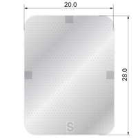 8110216 Guidor Bioresorbable Matrix Barrier GBD, P6, 20 X 28 mm Rectangle, 5081