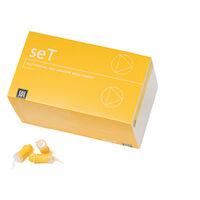 4473416 seT seT Capsules, Opaque White, 50/Pkg, 8805004