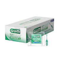 5251516 GUM Soft-Picks Comfort Flex Mint GUM Soft-Picks Comfort Flex Mint,72 Packs of 4/Box,670P