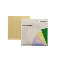 "8441716 Hygenic Dental Dam 6"" x 6"", Medium, Light, 360/Box, H04243"