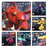 3310816 Assorted Stickers Big Hero, 100/Roll, PS588