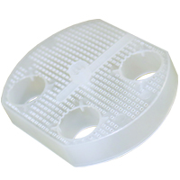 "9430226 Disposable Evacuation Traps Model 5510  3"" Diameter, 144/Pkg."