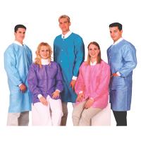 9510626 Extra Safe Jackets Medium, Ceil Blue, 10/Pkg, 3630CBM