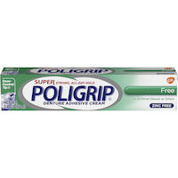 0074036 Super Poligrip Ultra Free Adhesive, 2.4 oz., 07204