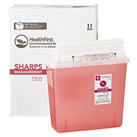 3170746 Sharps Recovery Dental Containers 5 Quart, Each, 3883